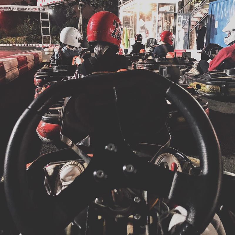 🏎️ Kart Racing Night | 欢乐卡丁车之夜—下次我要努力拿第一!