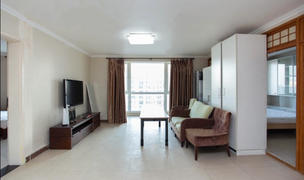 Beijing-Chaoyang-Fully Furnished,1 Big Living Room,1 Bathroom,3 rooms,Line 7,10,14,Single apartment