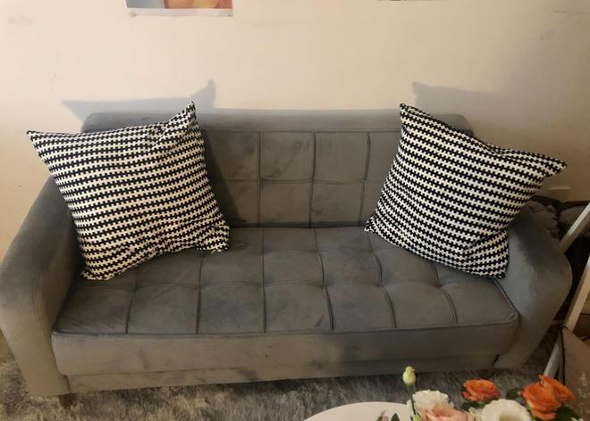 **低价转让双人沙发**Double sofa for sale