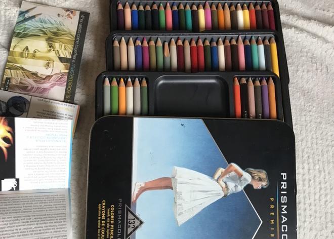 Prismacolor original 132 colored pencils