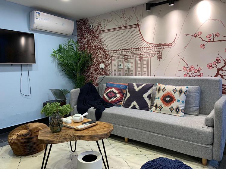 Beijing-Xicheng-Hutong,后海边上的LOFT平房,Long & Short Term,Single Apartment