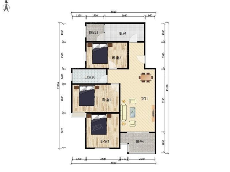 Beijing-Changping-Yuzhilu,🏠,Long & Short Term,Single Apartment