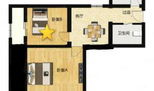 Beijing-Chaoyang-April to May,Line 4 &7,Shared apartment,Short term