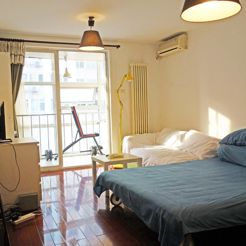 Beijing-Chaoyang-Long & Short term,Studio flat,Single apartment