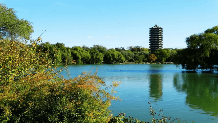 Weiminghu Lake at Peking University