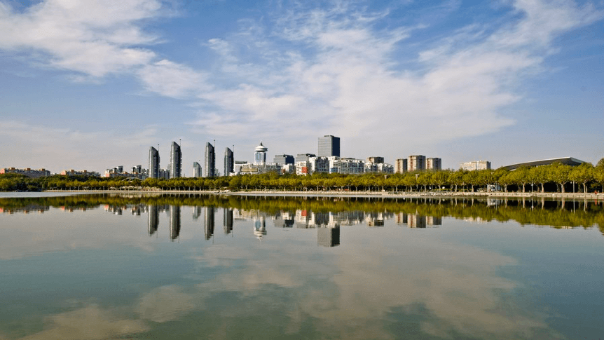 Century Park, Shanghai's largest park in Pudong