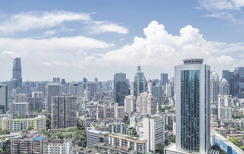 A peek of Yue Xiu District