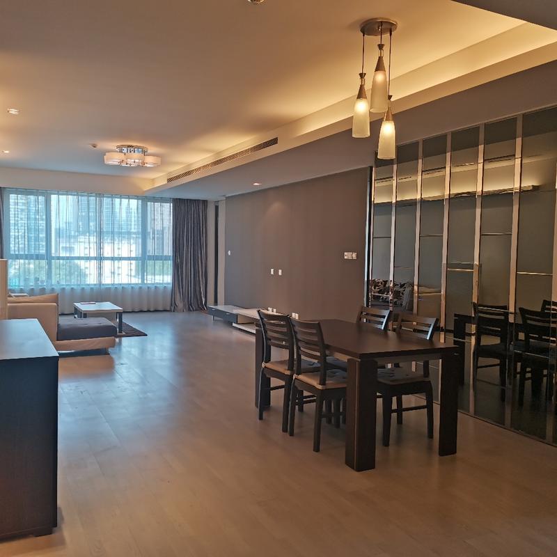 Beijing-Chaoyang-CBD,Line 10,Long term,2 bedrooms,Single Apartment
