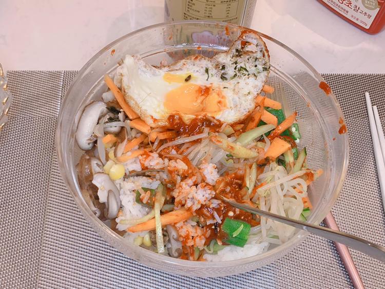 韩国拌饭| Korean Mixed Rice 🇰🇷