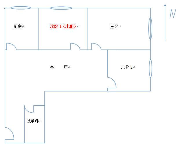 Beijing-Xicheng-Shared Apartment,👯♀️