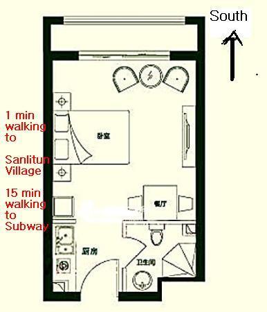 Beijing-Chaoyang-Sanlitun,Single Apartment,Pet Friendly,LGBT Friendly 🏳️🌈,Long & Short Term,🏠