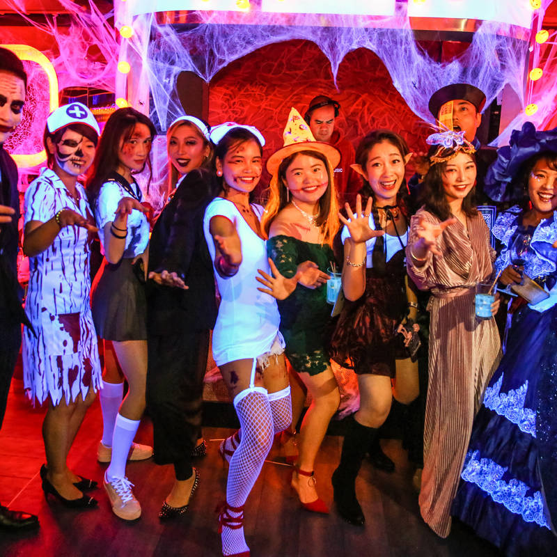 「The Haunted House」Halloween Party 2020「外滩十八号惊魂」魔都万圣夜狂欢大趴